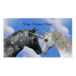 Besar la tarjeta de visita del caballo de la fanta