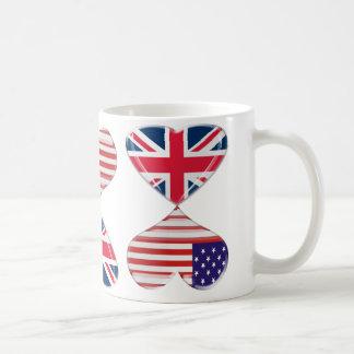 Besar los E.E.U.U. y arte BRITÁNICO de las Taza Clásica