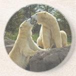 Besar osos polares posavasos manualidades