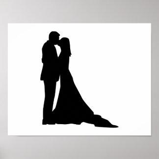 Besar pares del boda poster