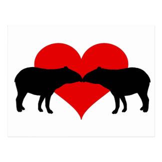 Besar Tapirs Postales
