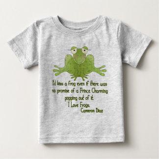 Besaría una cita de Cameron Diaz de la rana Camiseta
