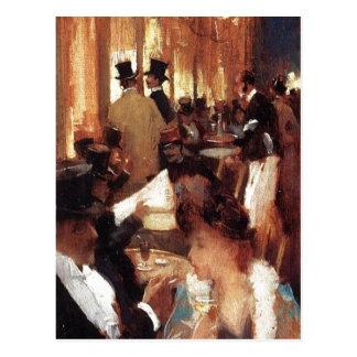Beschreibung Bildbeschreibung: Au Cafe Datum: 1888 Postcard