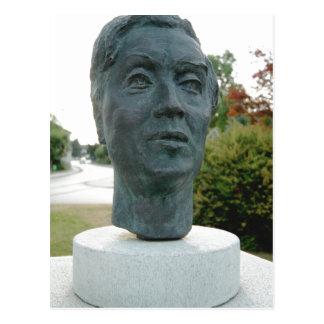 Beschreibung Description Bust of the composer Alba Postcard