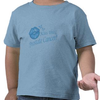 ¡Bese a este cáncer de próstata! Camiseta