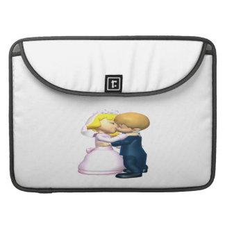 Bese a la novia funda para macbooks