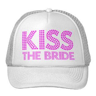 Bese a la novia gorros