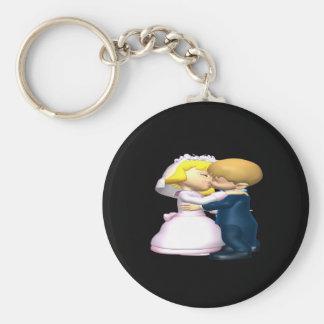 Bese a la novia llaveros personalizados
