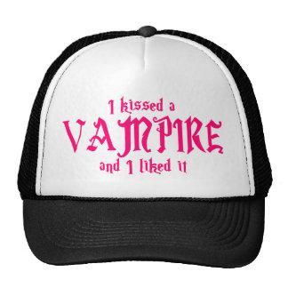 Besé a un vampiro y tuve gusto de él gorra