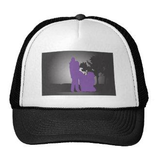 Bese al chica gorras
