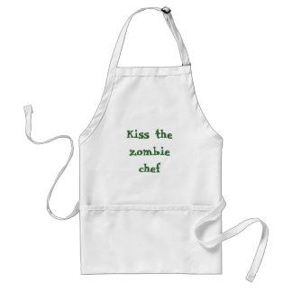 Bese al cocinero del zombi delantales