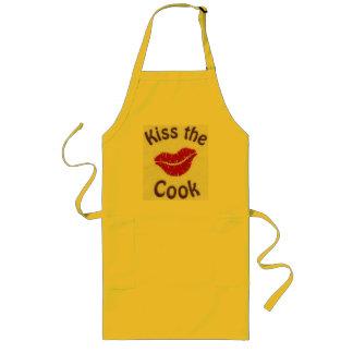 bese al cocinero delantal largo