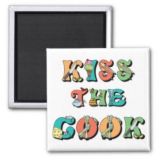 Bese al cocinero imanes