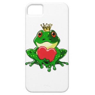 Bese al príncipe de la rana iPhone 5 carcasa