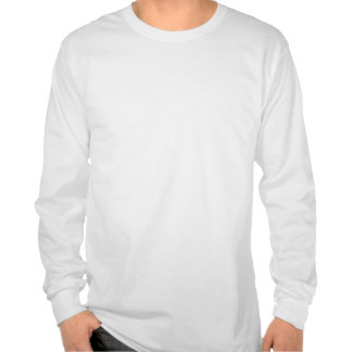Bese camiseta larga de la manga del inversor de