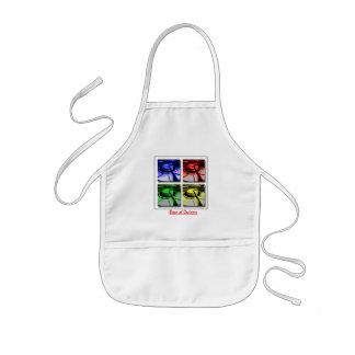 Bese el delantal de Espanol del cocinero