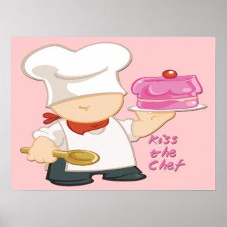 """Bese el poster/la impresión 24"""" del cocinero x18 """" póster"""