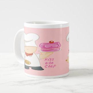 Bese las tazas de la especialidad del cocinero taza jumbo