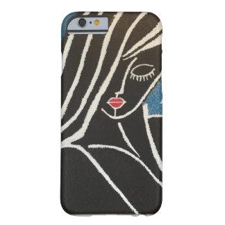 Bese los labios rojos funda de iPhone 6 barely there