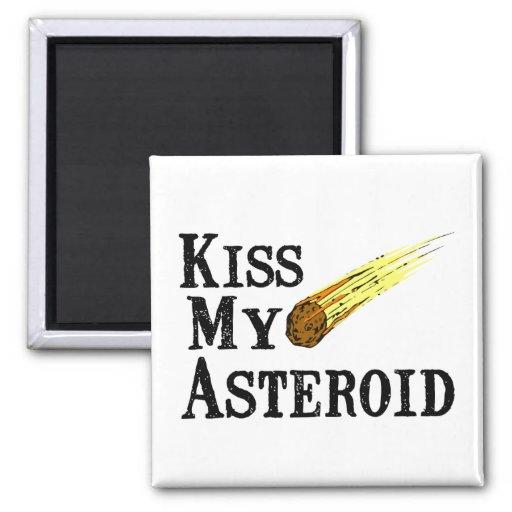 Bese mi asteroide imán cuadrado