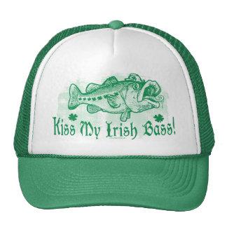 Bese mi bajo irlandés gorras
