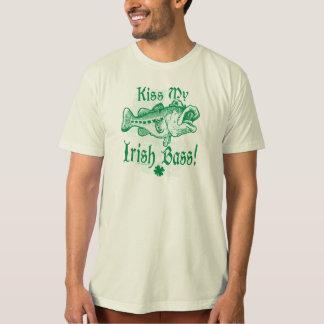 Bese mi engranaje bajo irlandés playeras