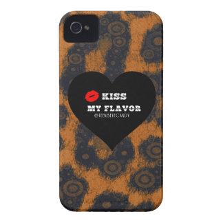 Bese mi guepardo de Vape del sabor iPhone 4 Carcasas