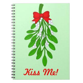 Bese mi muérdago - cuaderno