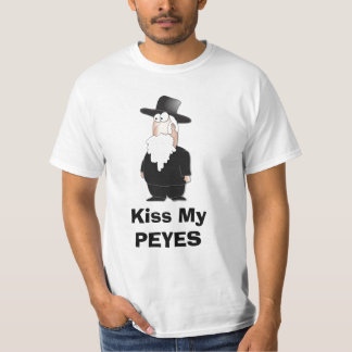 Bese mi PEYES - camisa divertida del rabino