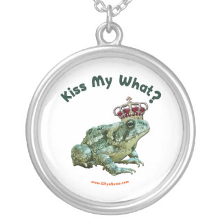 Bese mi qué príncipe del sapo de la rana colgante redondo