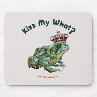 Bese mi qué príncipe del sapo de la rana tapetes de raton