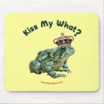 Bese mi qué príncipe del sapo de la rana tapete de ratones