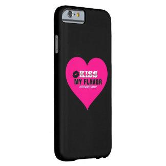 Bese mi rosa de Vape del sabor Funda Para iPhone 6 Barely There