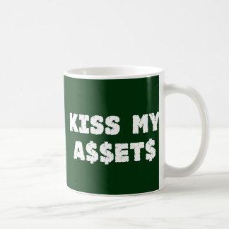 Bese mi taza divertida de Wall Street de los