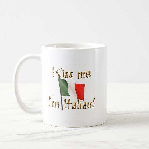 Bese mi taza italiana