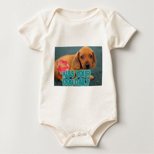 Bese su diario 3 del perro body para bebé