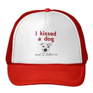 Besé un perro gorro
