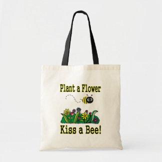 Bese una abeja bolsa tela barata
