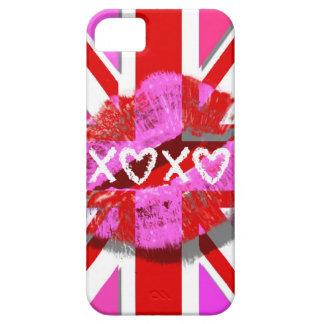 BESE UNION JACK - XOXO iPhone 5 CARCASA