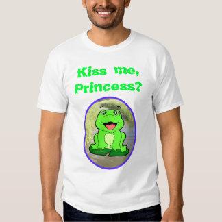 ¿Béseme? Camisa de Froggie