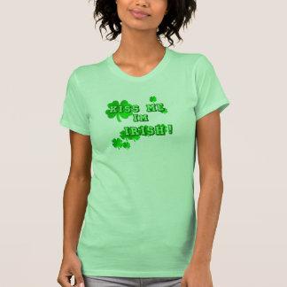 Béseme camisetas del irlandés de I´m Playeras