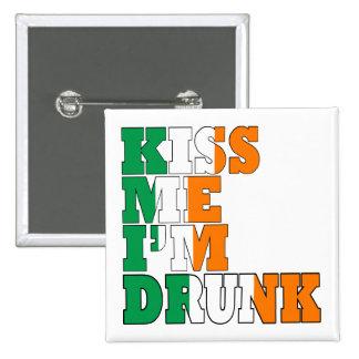 Béseme día borracho de las palmaditas del St Im Pin