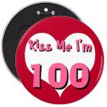 Béseme el botón - 100 pin