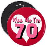 Béseme el botón - 70 pin