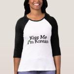 Béseme el coreano Im Camiseta