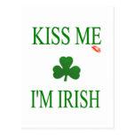 Béseme el irlandés Im Postal