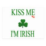 Béseme el irlandés Im Postales