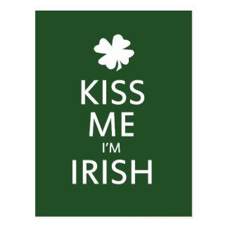 Béseme el irlandés Im Tarjetas Postales