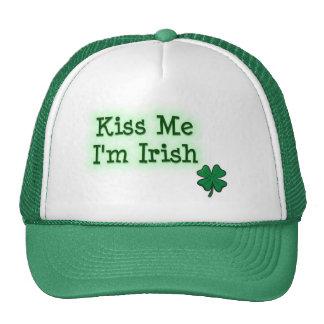 Béseme I' irlandés de m Gorros Bordados