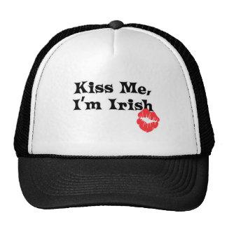 Béseme I' irlandés de m Gorras De Camionero